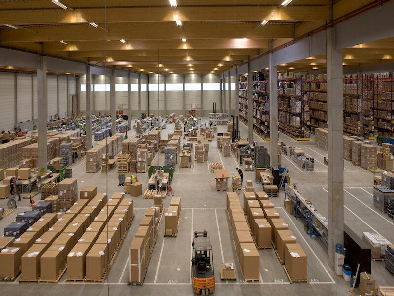 logistics system of aldi